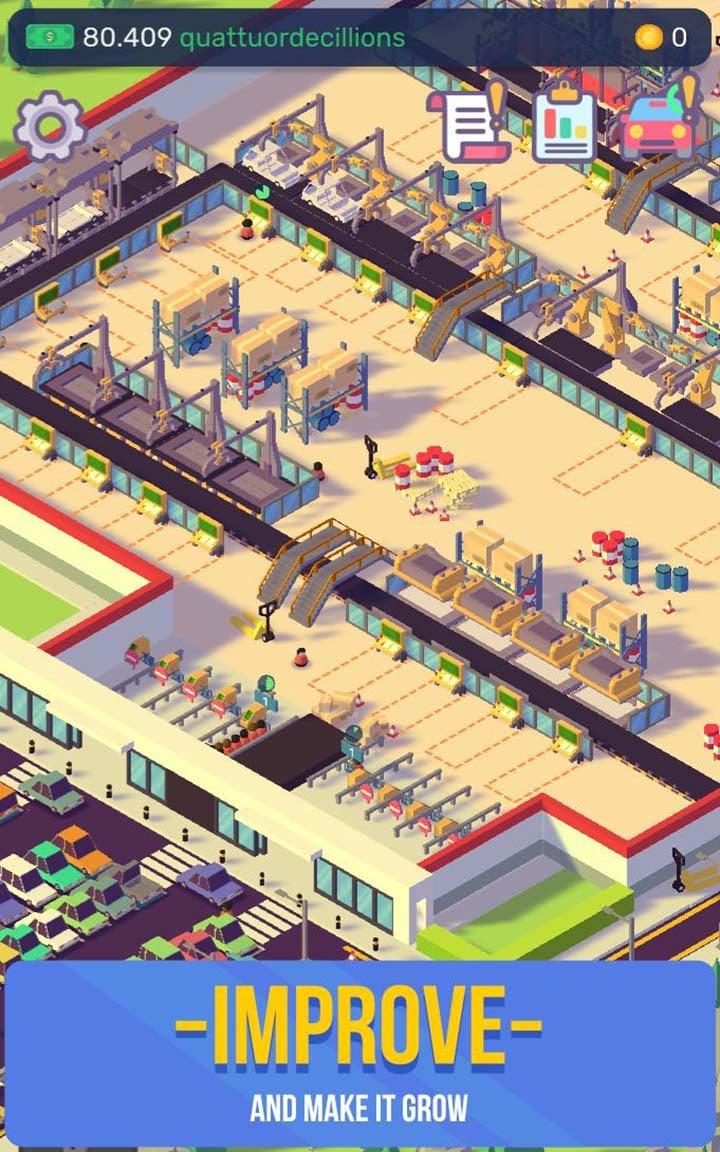 Car Industry Tycoon screenshot 2
