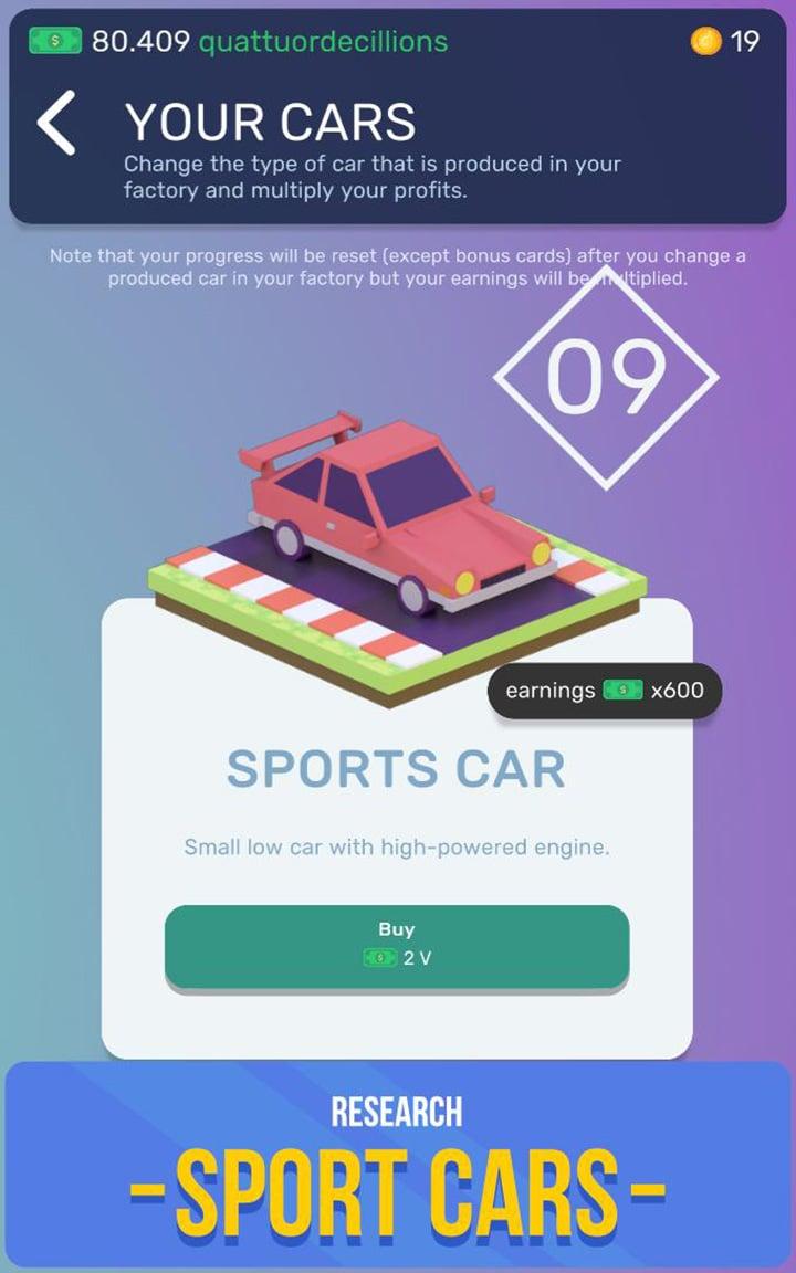 Car Industry Tycoon screenshot 4