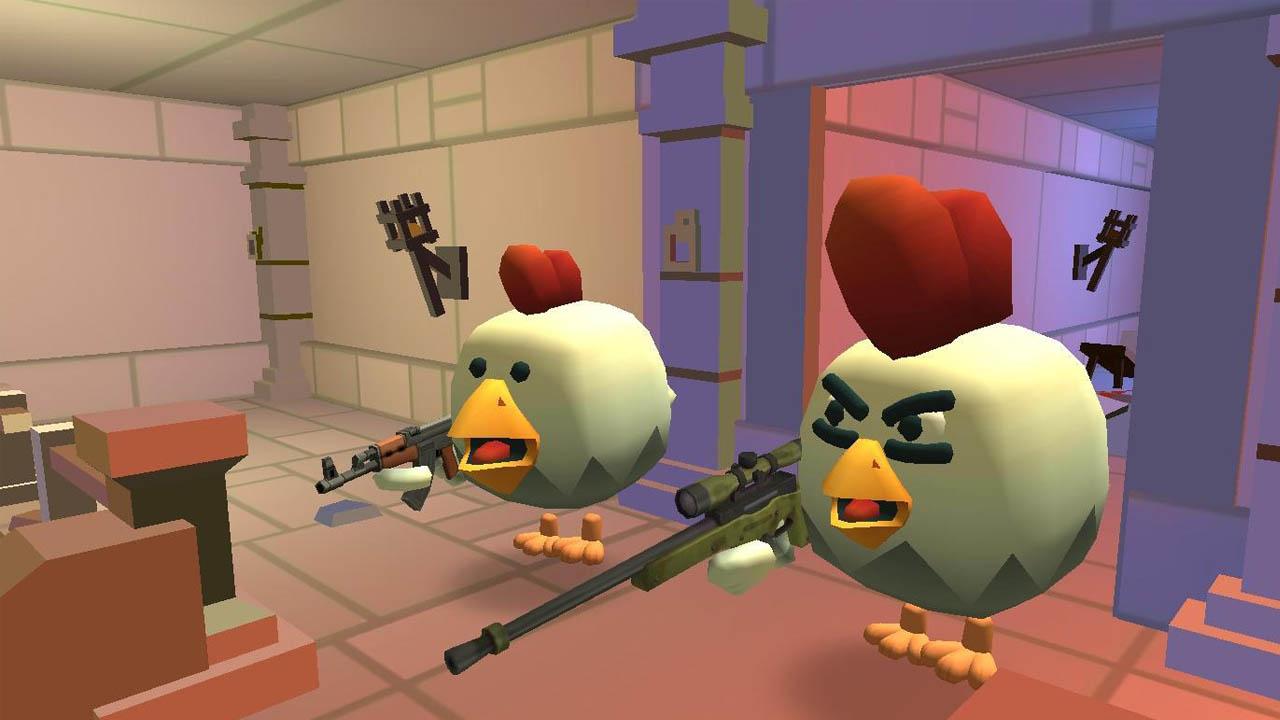 Chicken Gun poster