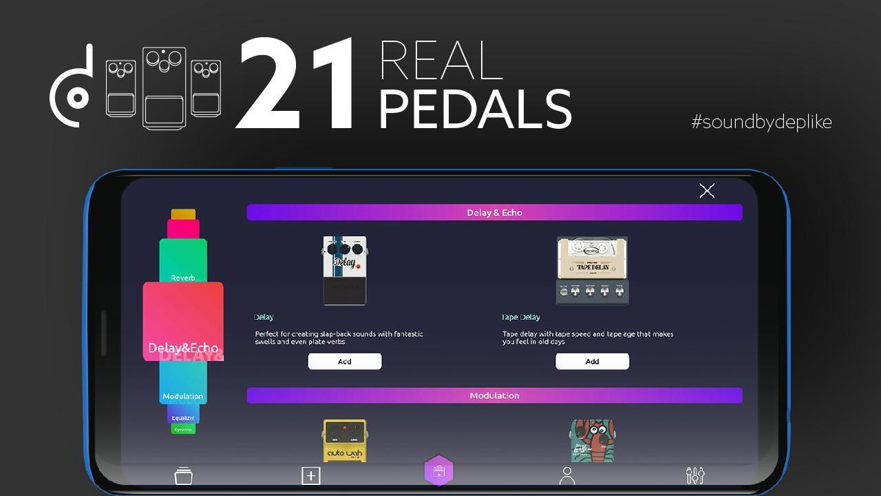 Deplike: Guitar Effects Pedals screenshot 2
