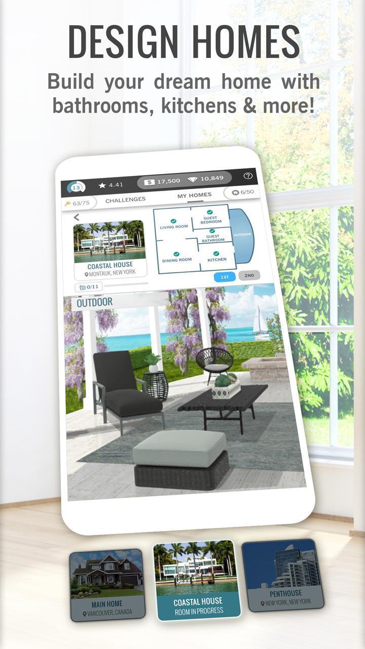 Design Home game screenshot 3