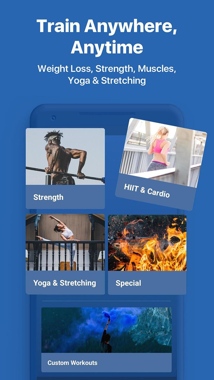Fitify Workout Routines and Training Plans screenshot 2