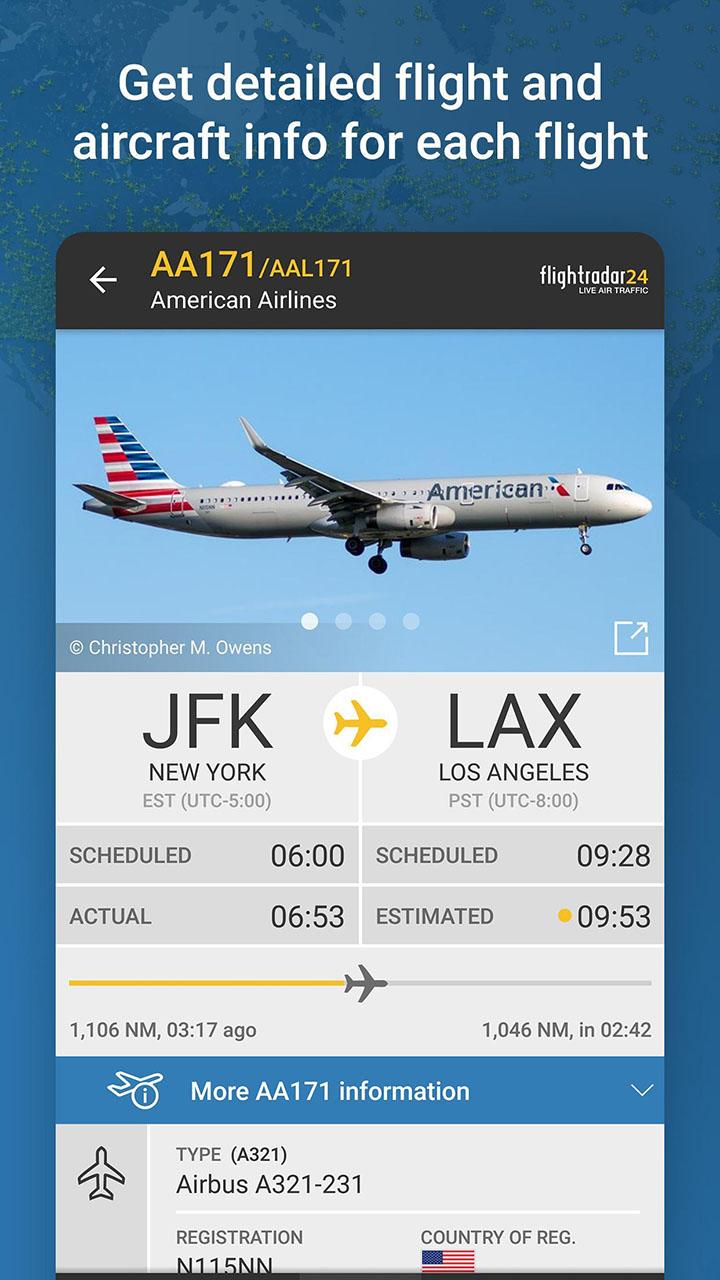 Flightradar24 Flight Tracker screenshot 1