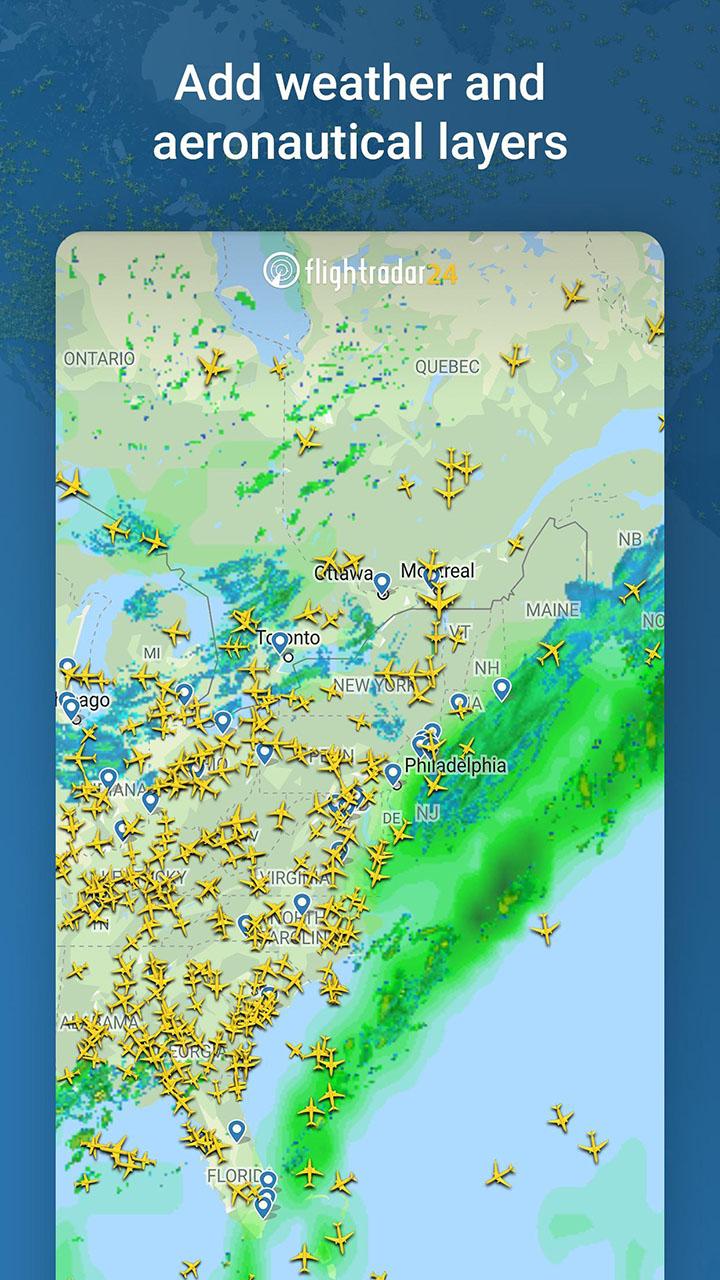Flightradar24 Flight Tracker screenshot 2
