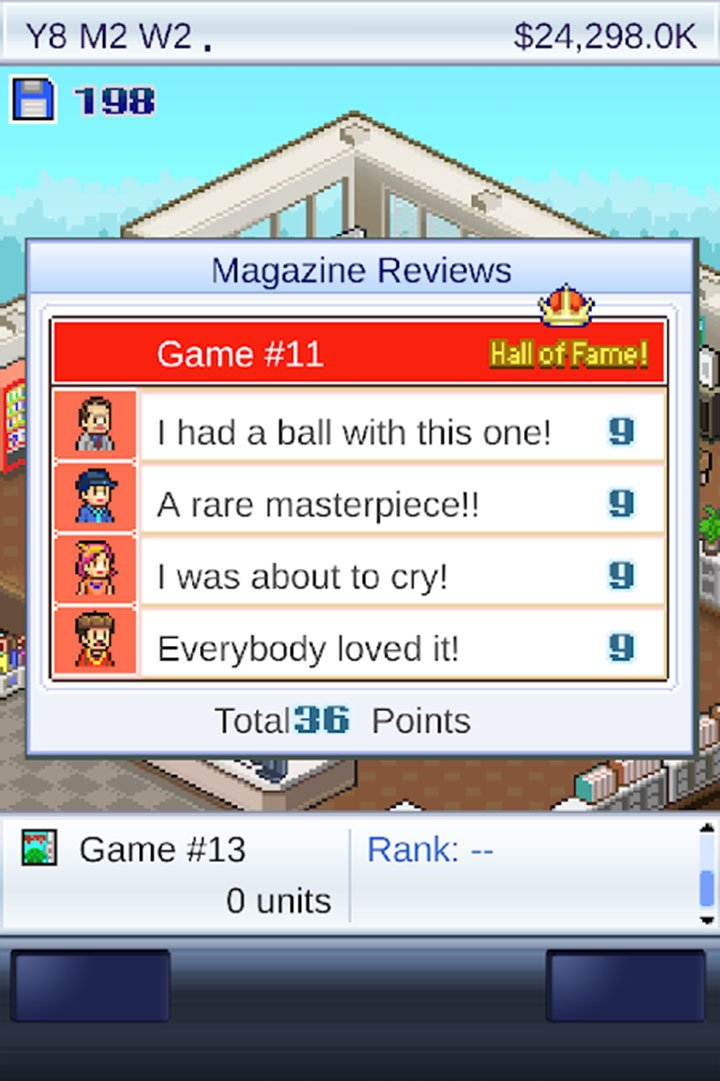 game dev story screen 3