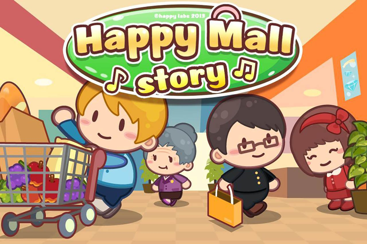 Happy Mall Story: Sim Game poster