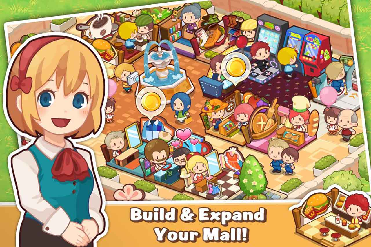 Happy Mall Story: Sim Game screenshot 1