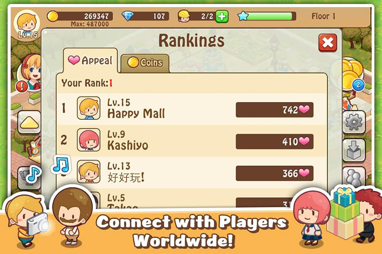 Happy Mall Story: Sim Game screenshot 3