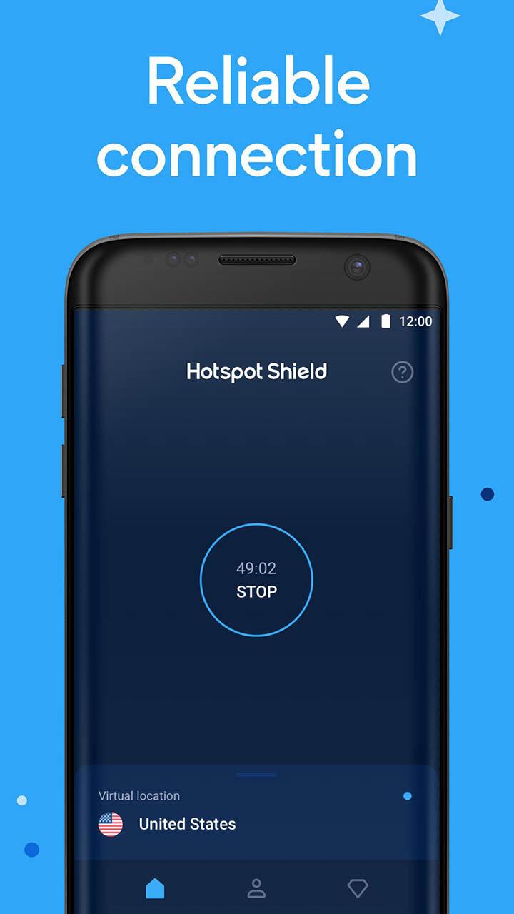 Hotspot Shield screenshot 3