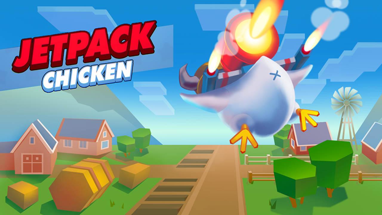Jetpack Chicken poster