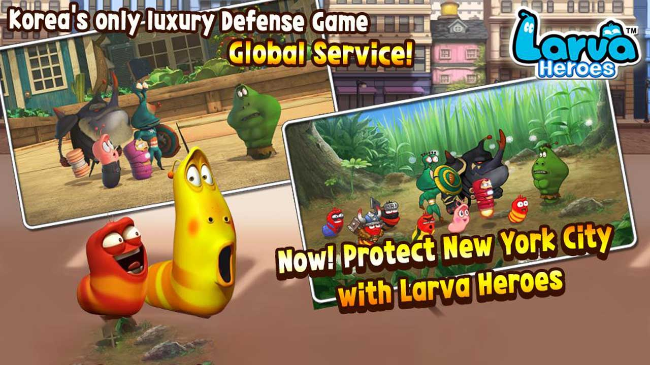 Larva Heroes: Lavengers poster