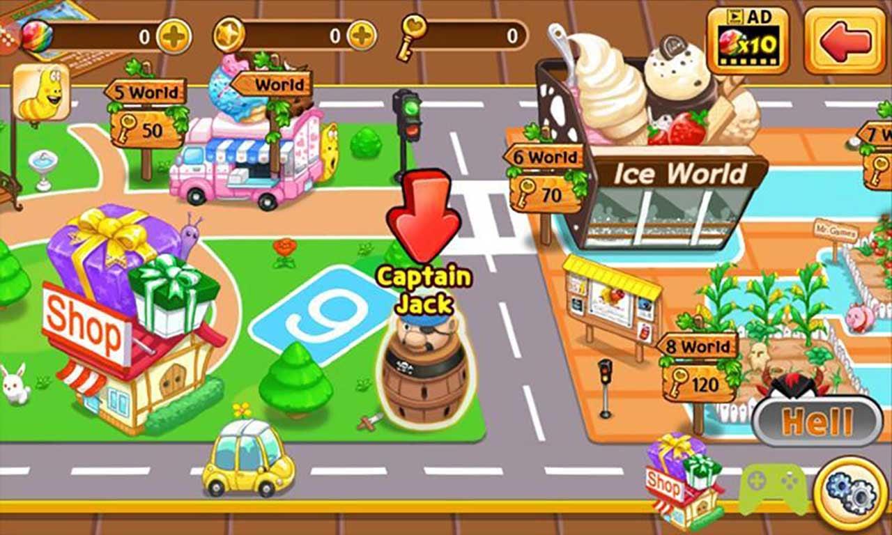 Larva Heroes: Lavengers screenshot 2