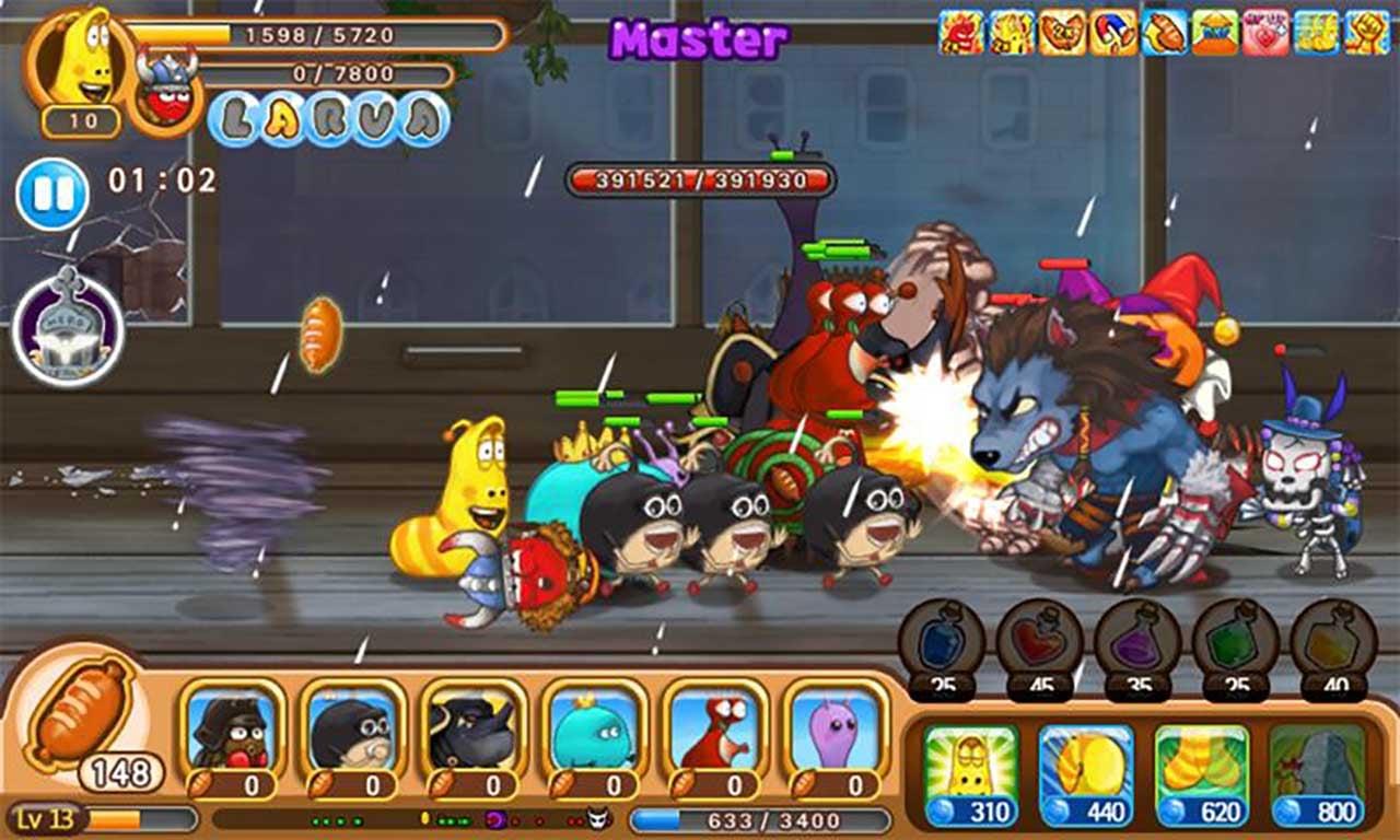 Larva Heroes: Lavengers screenshot 3
