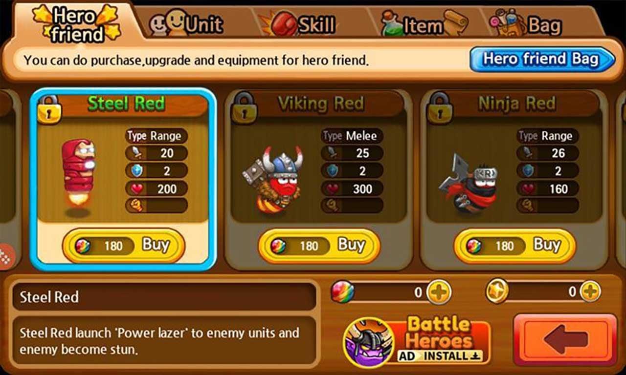 Larva Heroes: Lavengers screenshot 4