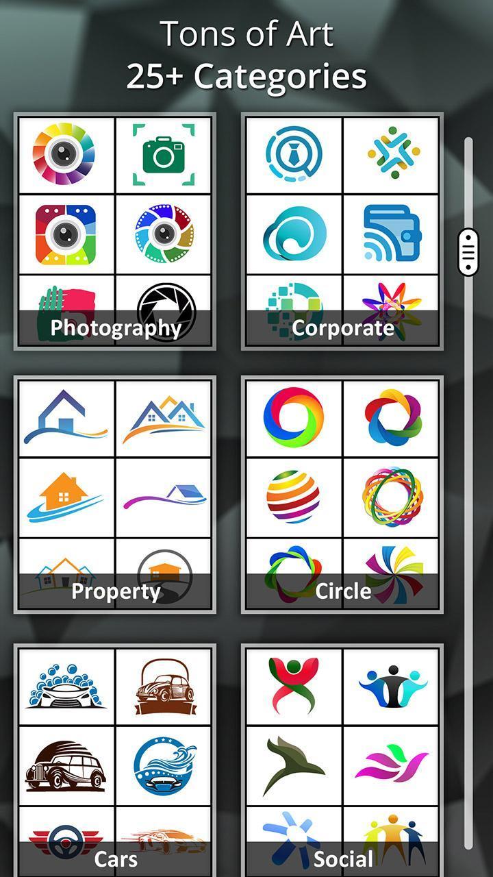 Logo Maker app screenshot 5