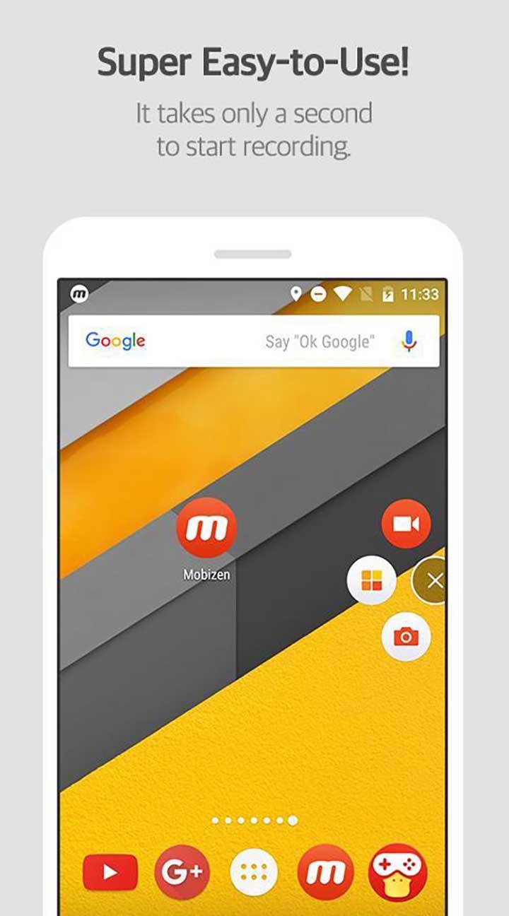 Mobizen Screen Recorder screenshot 1