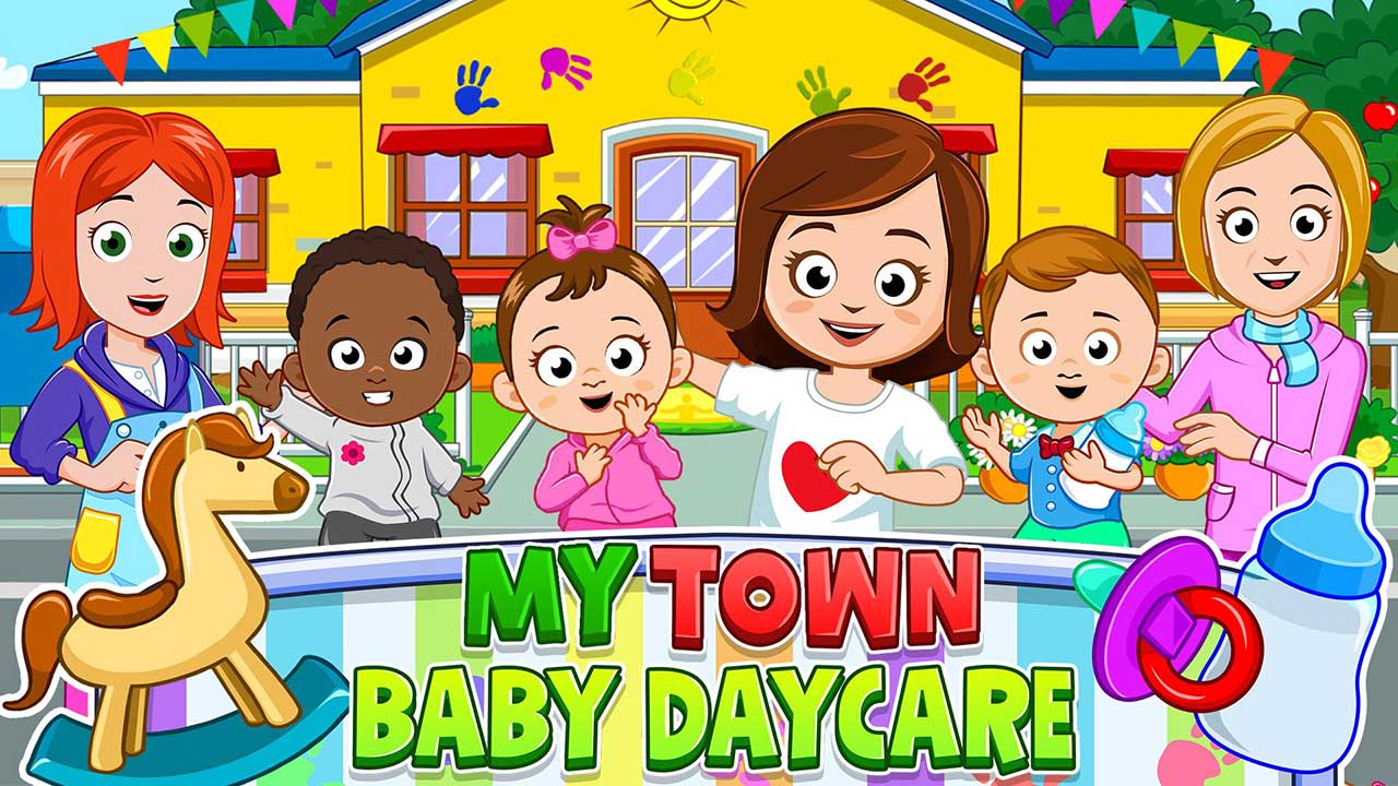 My Town Daycare poster