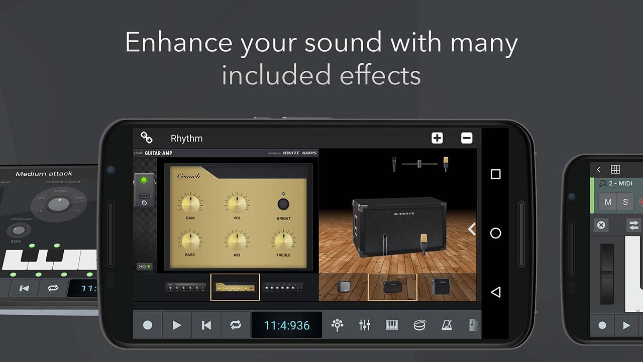 n-Track Studio 9 Pro screenshot 2