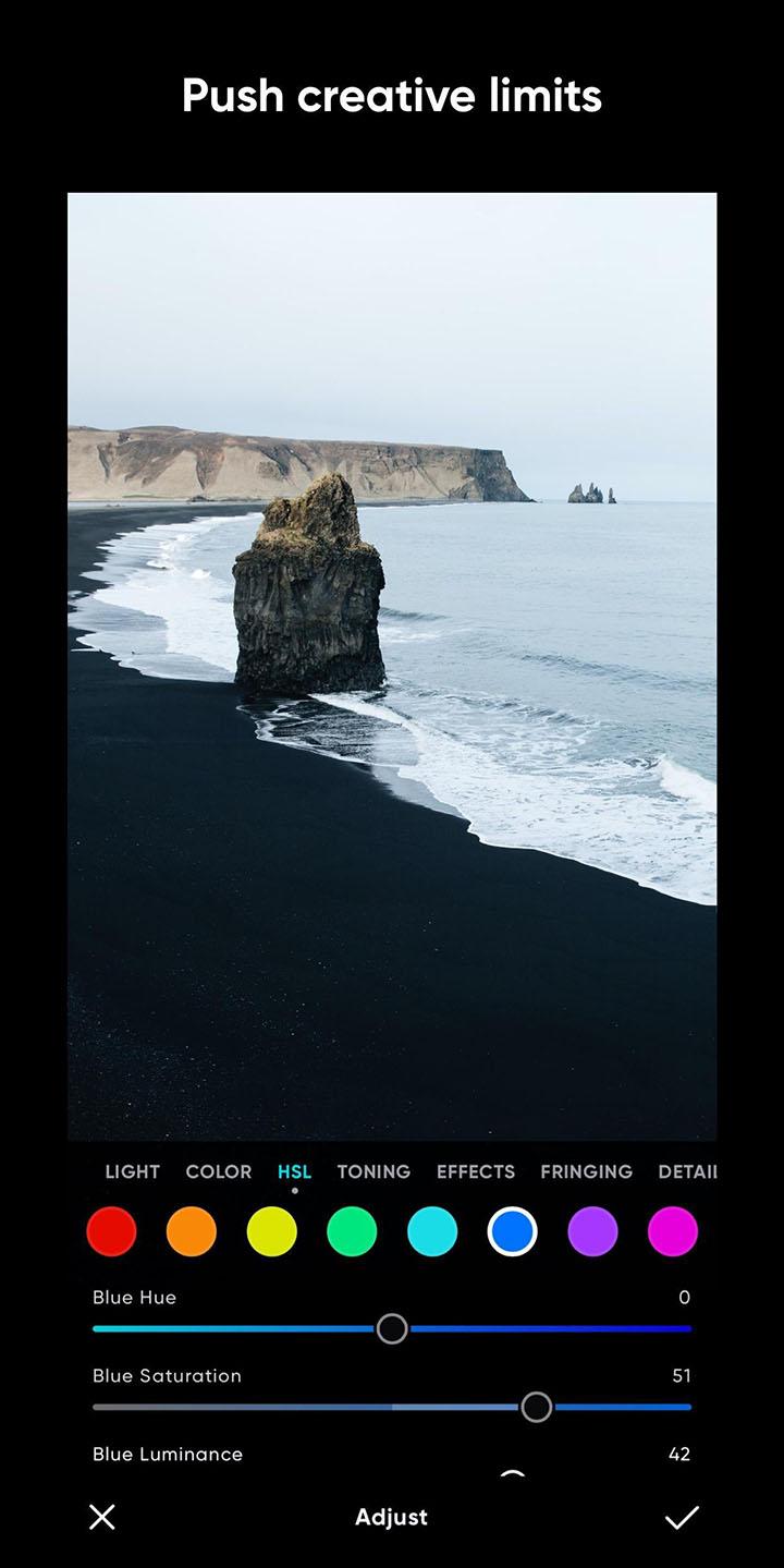 Polarr Photo Editor screenshot 3
