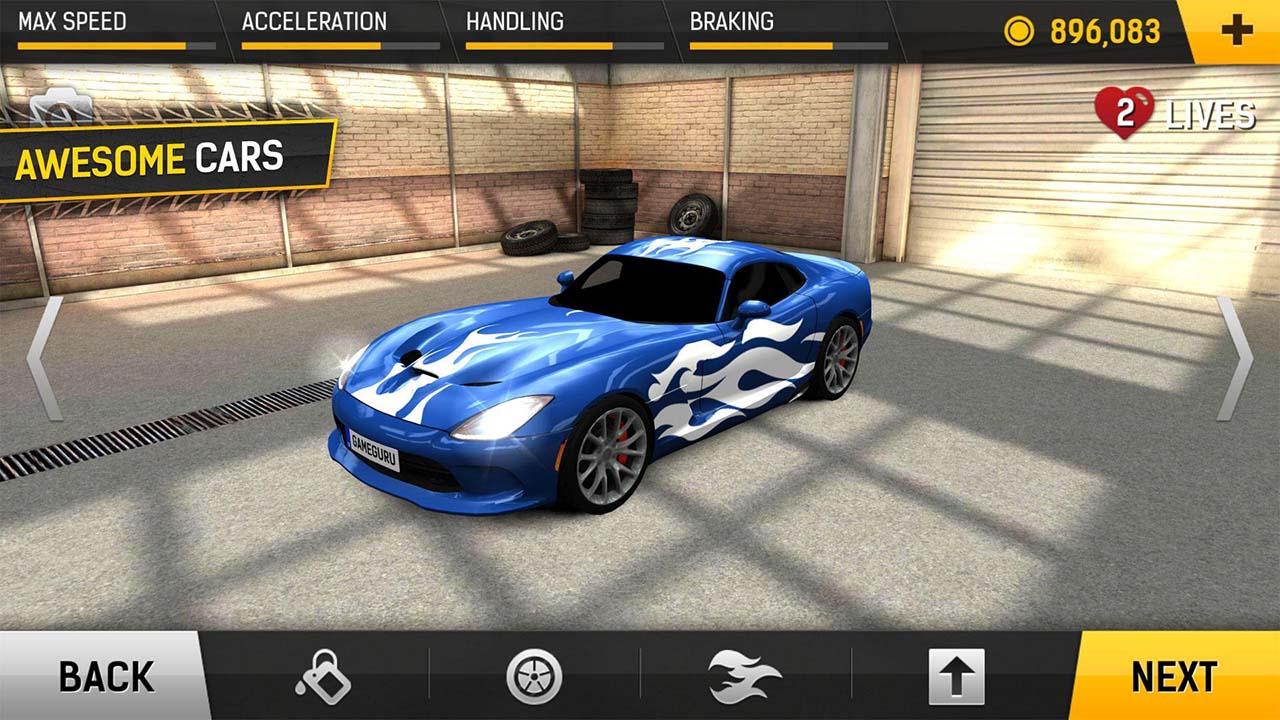 racing fever screen 3