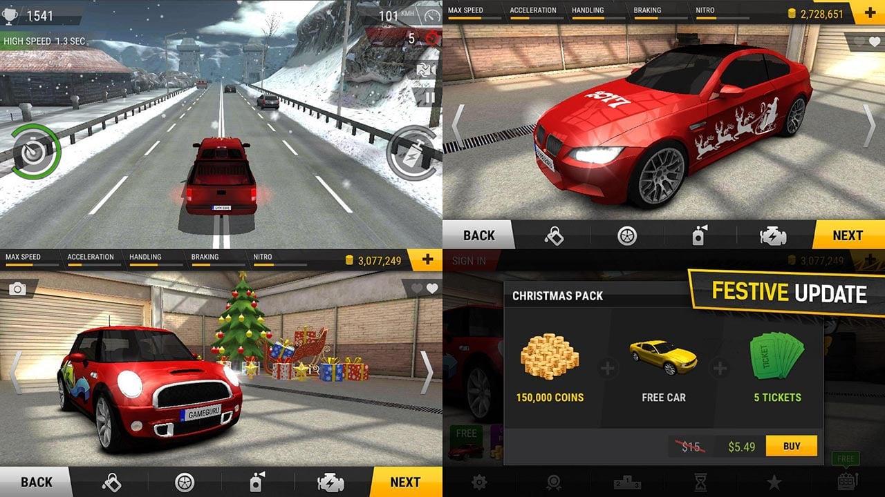 racing fever screen 4