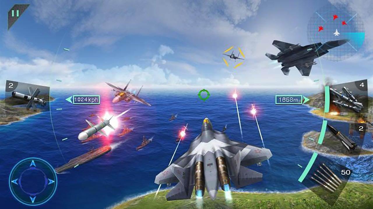 Sky Fighters 3D screenshot 1