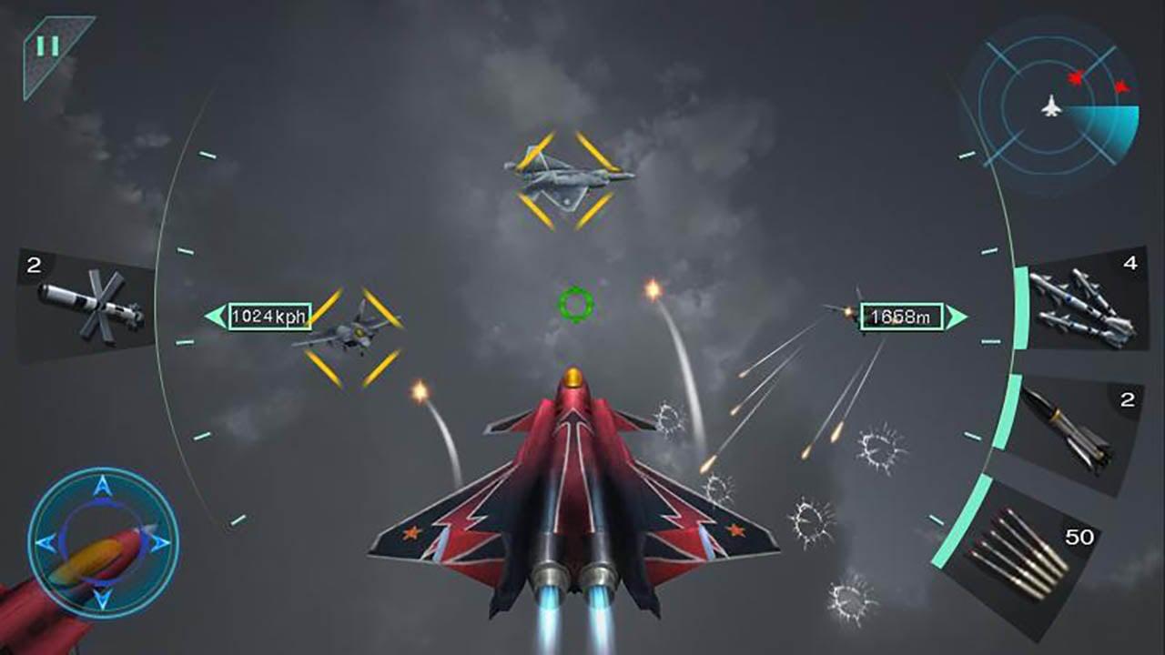 Sky Fighters 3D screenshot 2