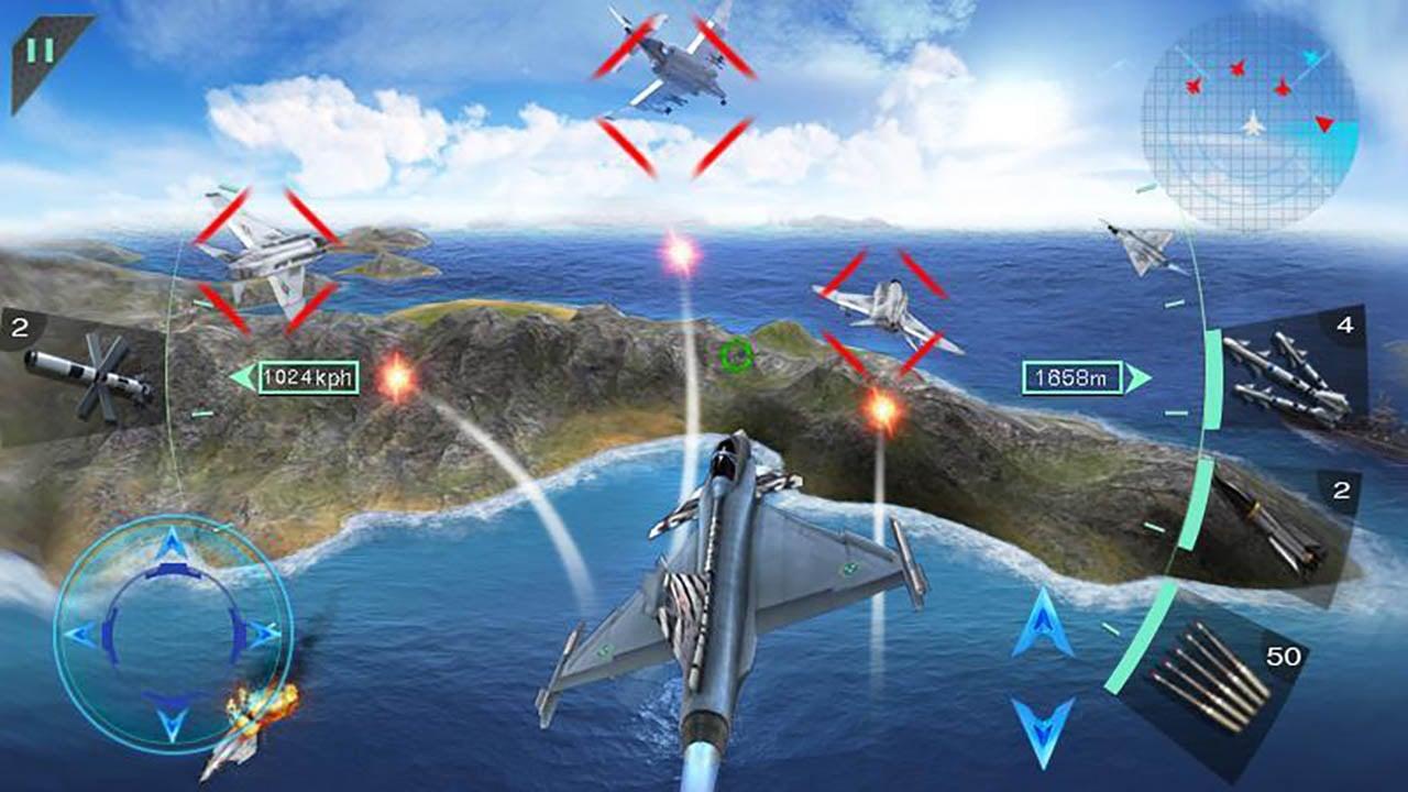 Sky Fighters 3D screenshot 3