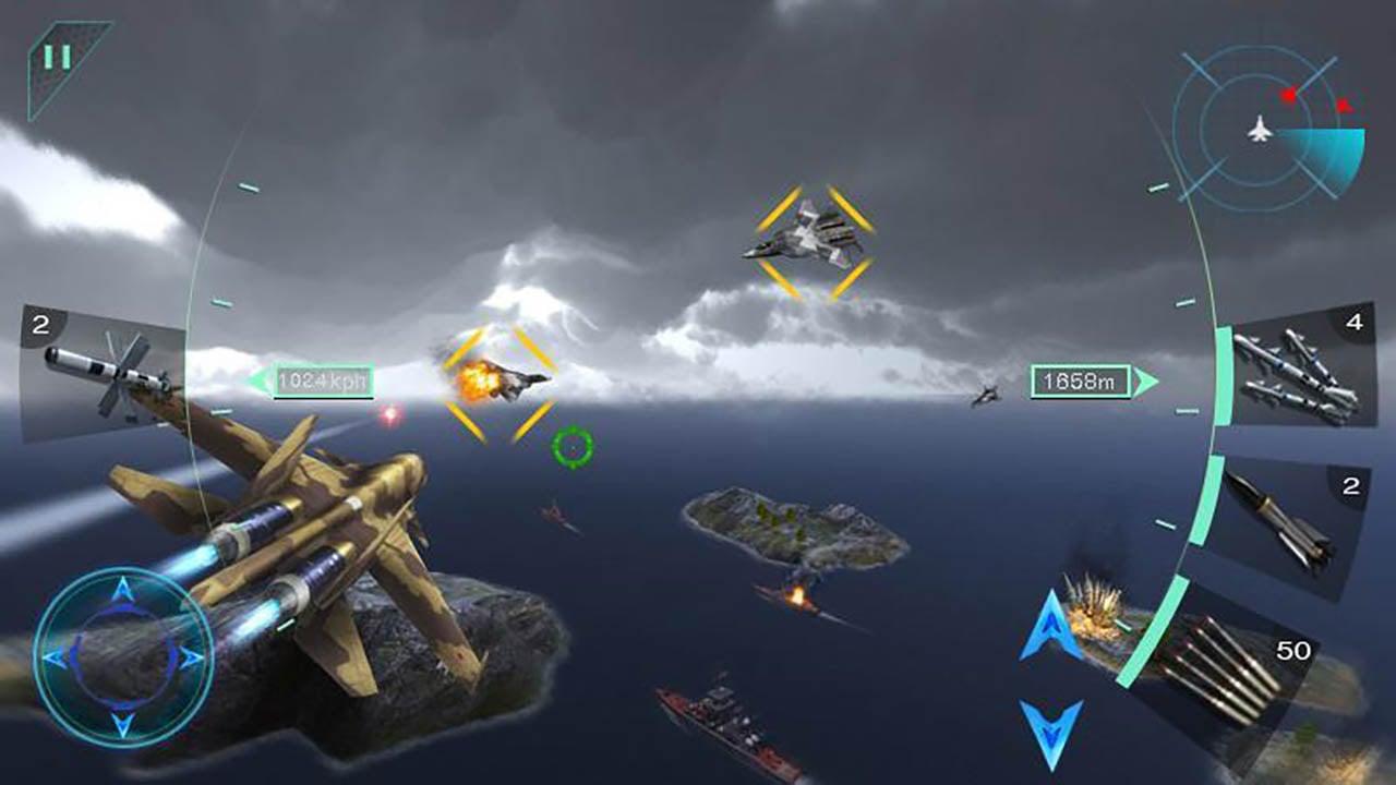Sky Fighters 3D screenshot 4