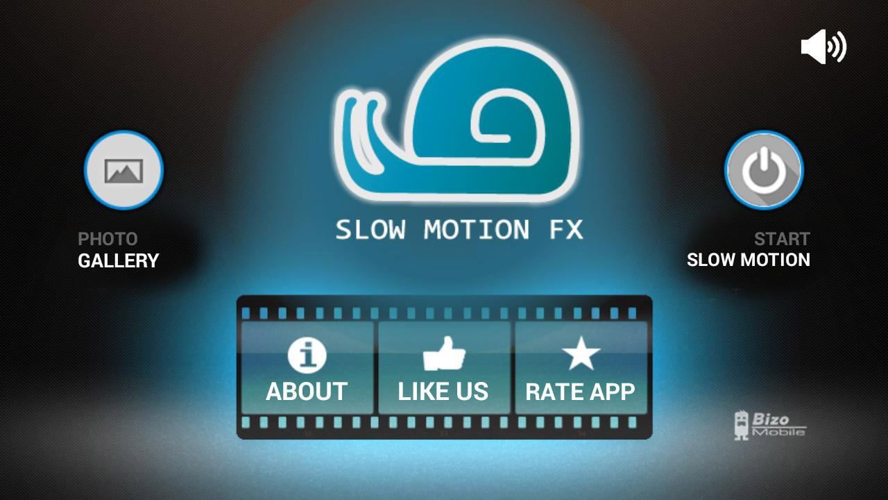 Slow motion video FX poster