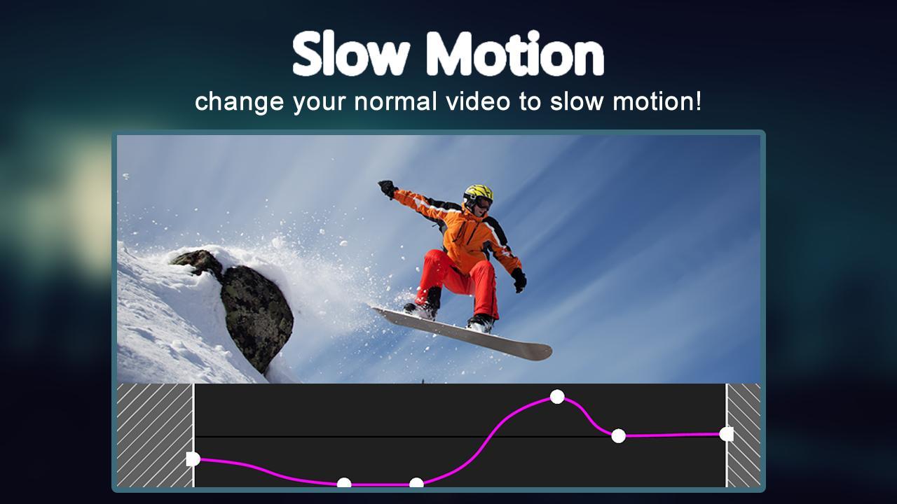 Slow motion video FX screenshot 2