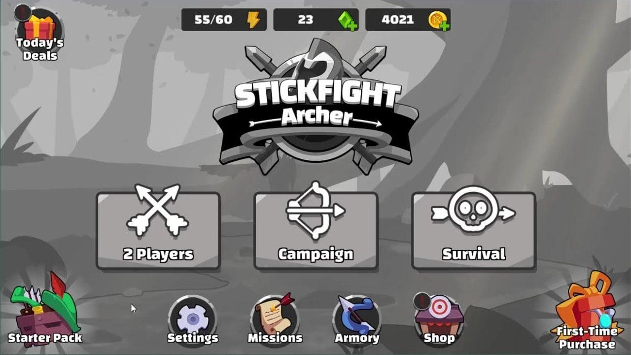 Stickfight Archer poster