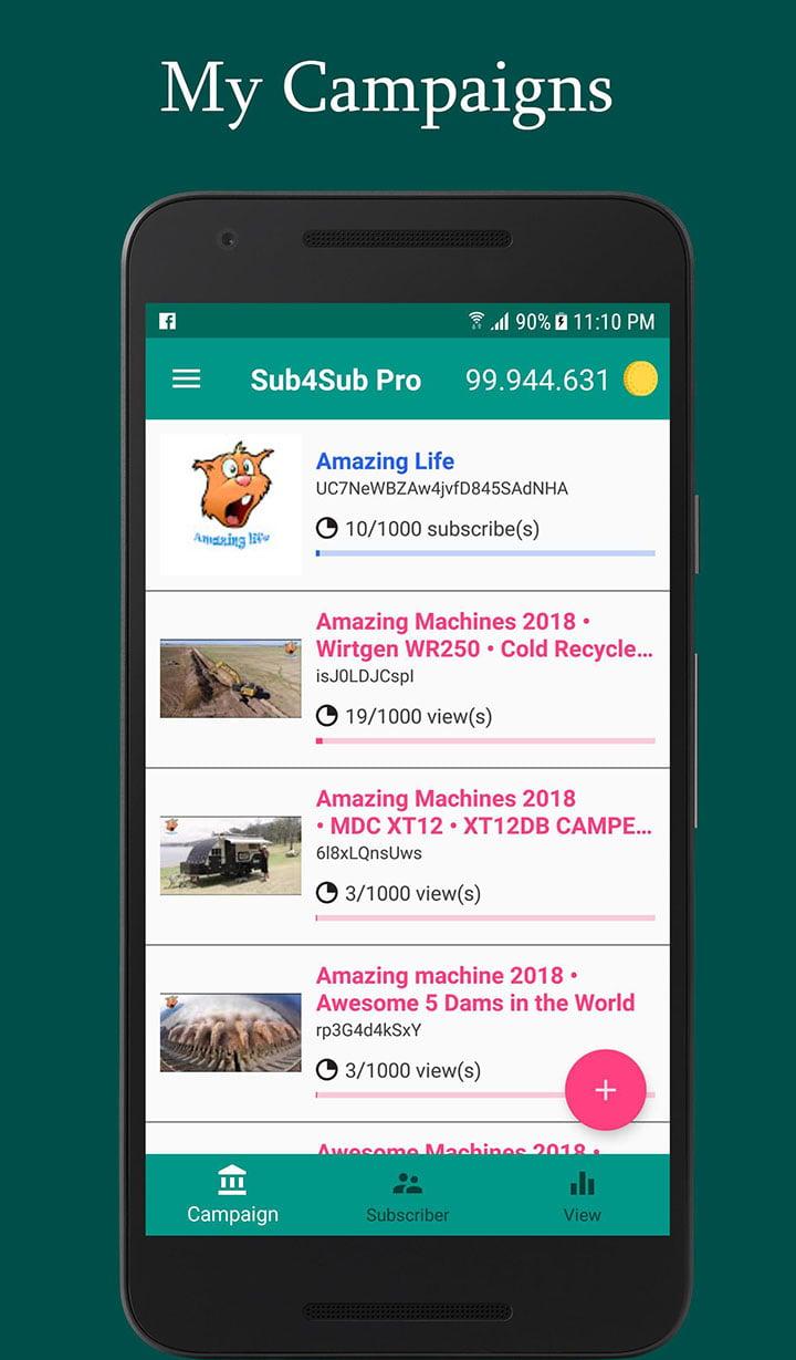 Sub4Sub Pro screenshot 1