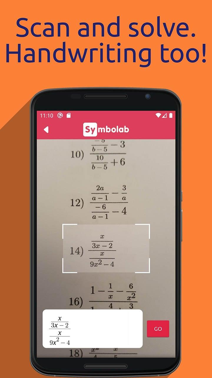 Symbolab Math solver screenshot 4