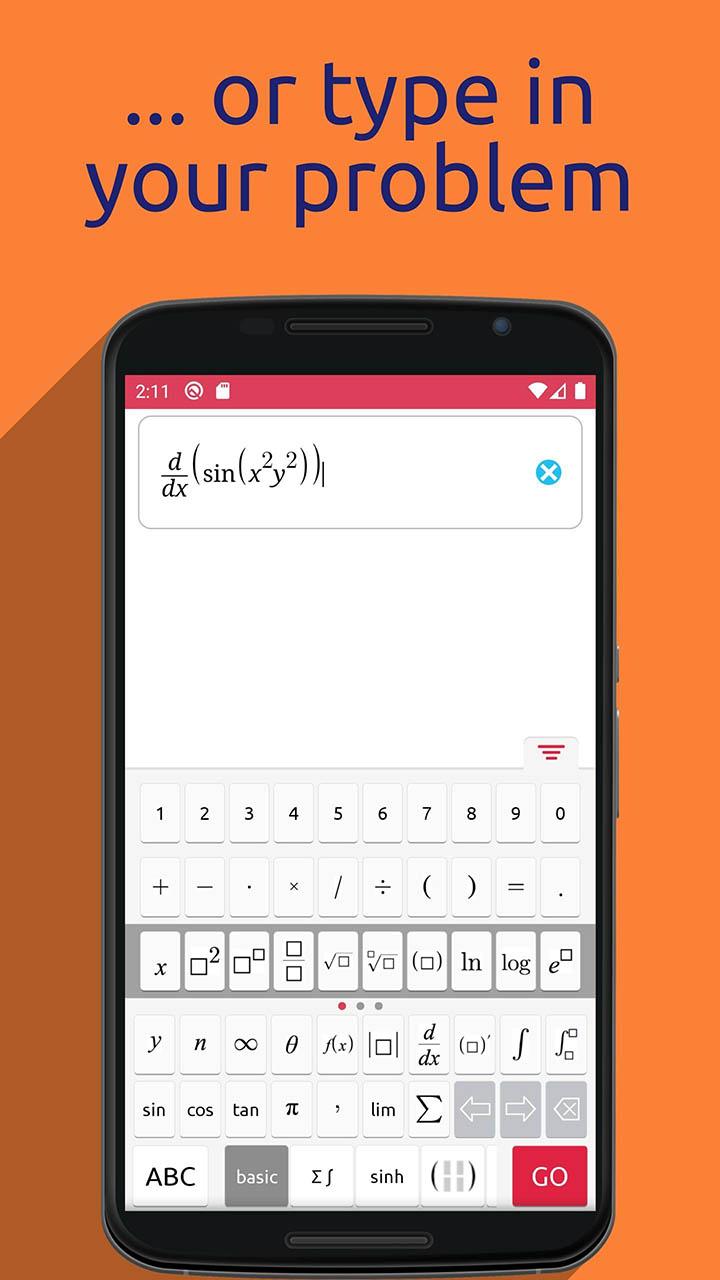 Symbolab Math solver screenshot 5