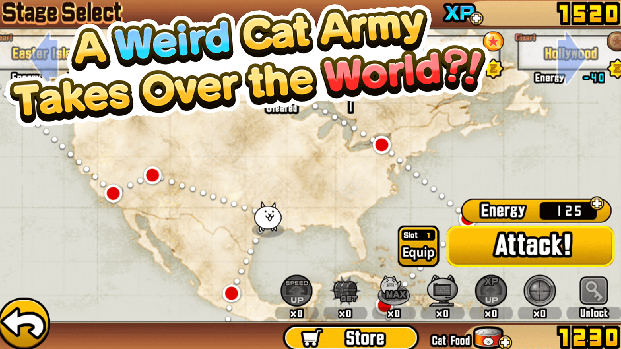 The Battle Cats screenshot 1