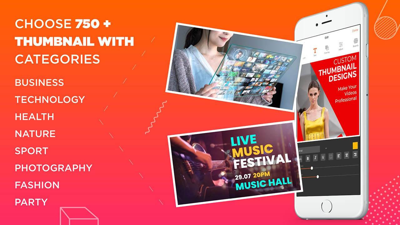 Thumbnail Maker app poster