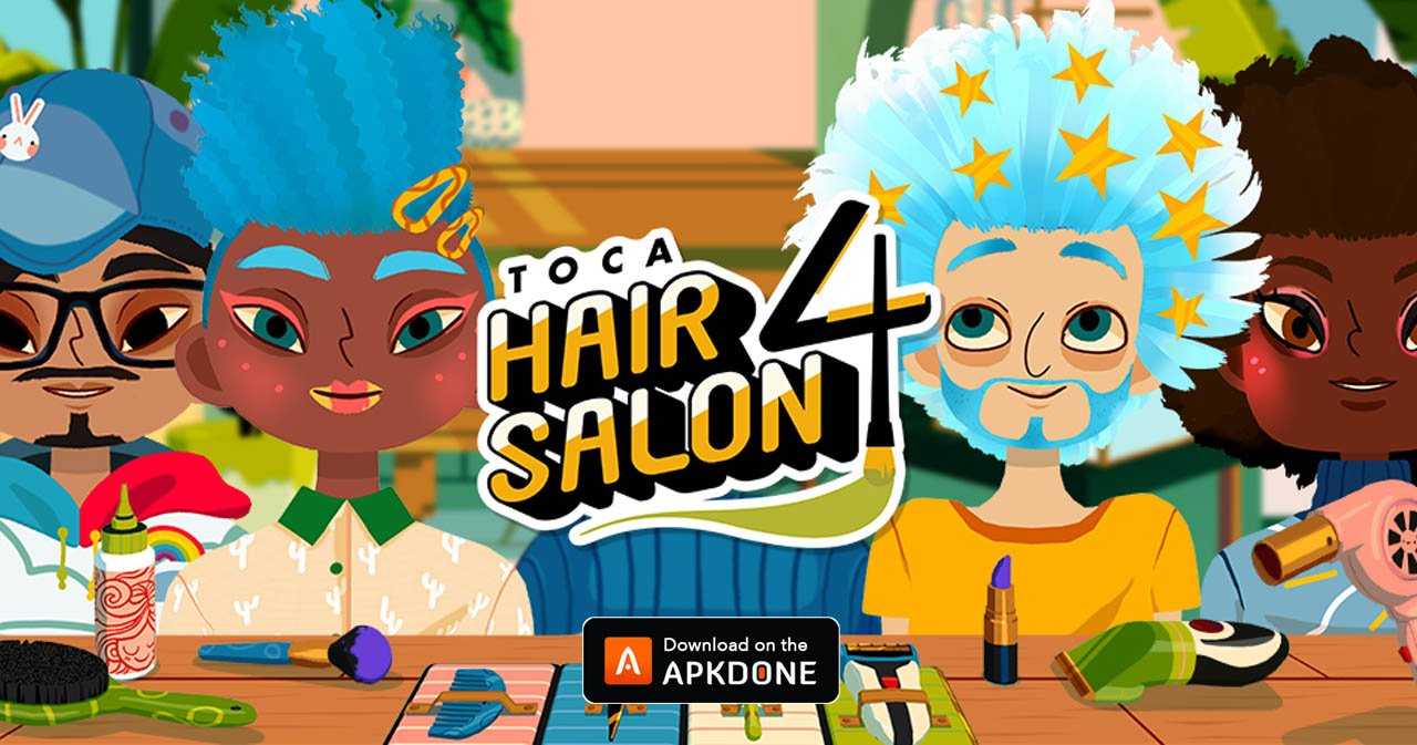 Toca Hair Salon 4 Mod Apk 1 8 0 Download Unlocked Free For Android