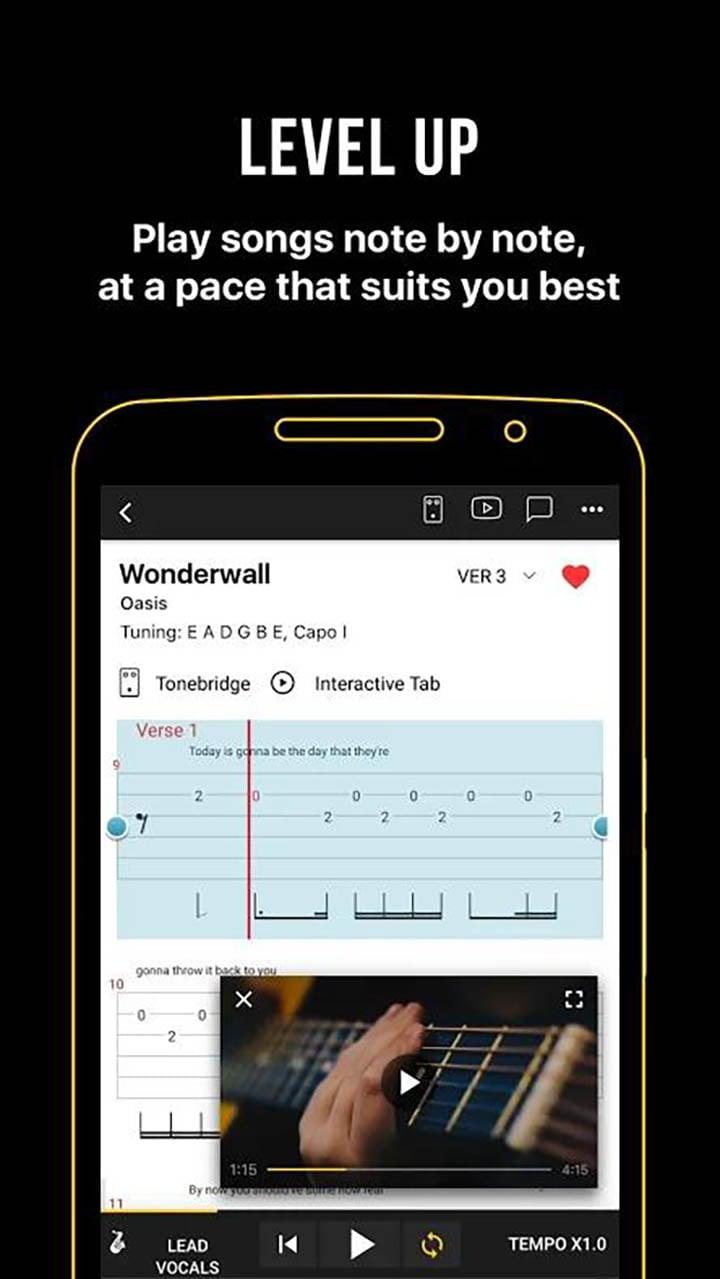 Ultimate Guitar Chords and Tabs screenshot 3