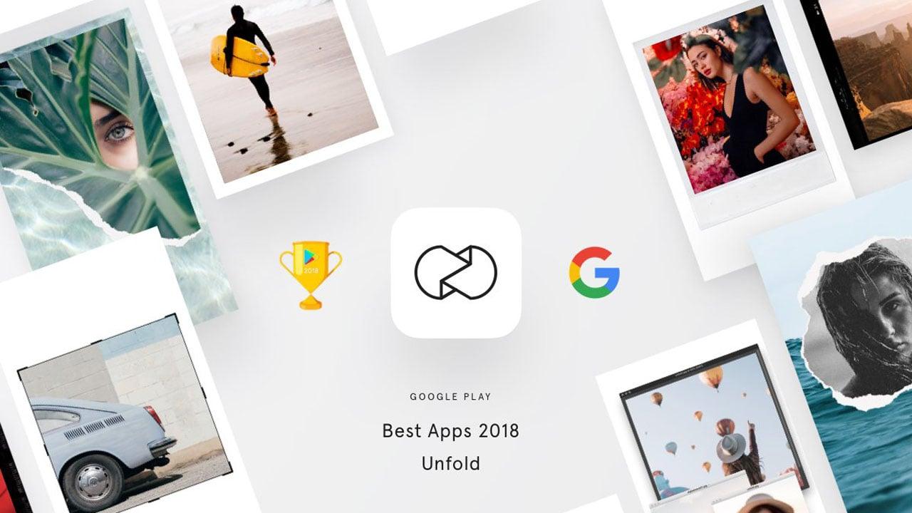 Unfold app poster