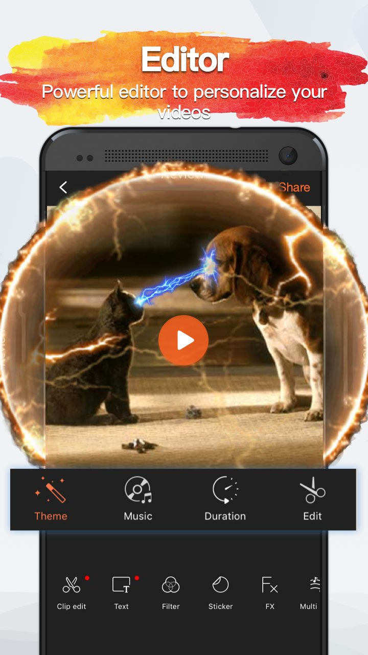 VivaVideo PRO screenshot 3