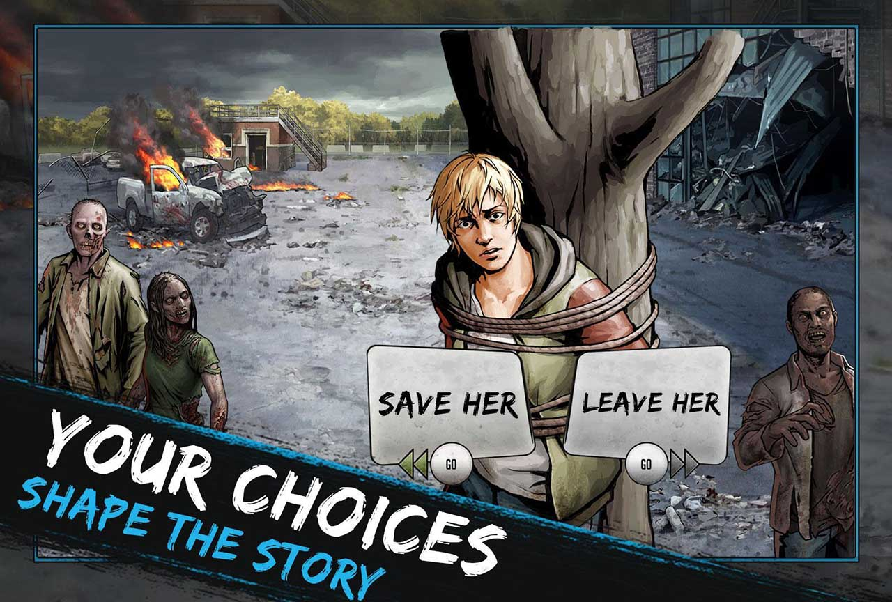 The Walking Dead: Road to Survival poster screen 1