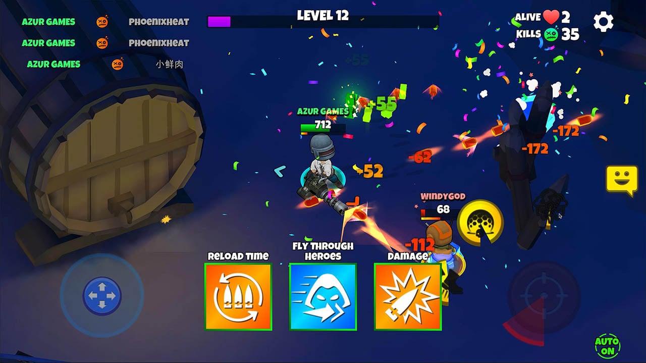 Warriors.io screenshot 1