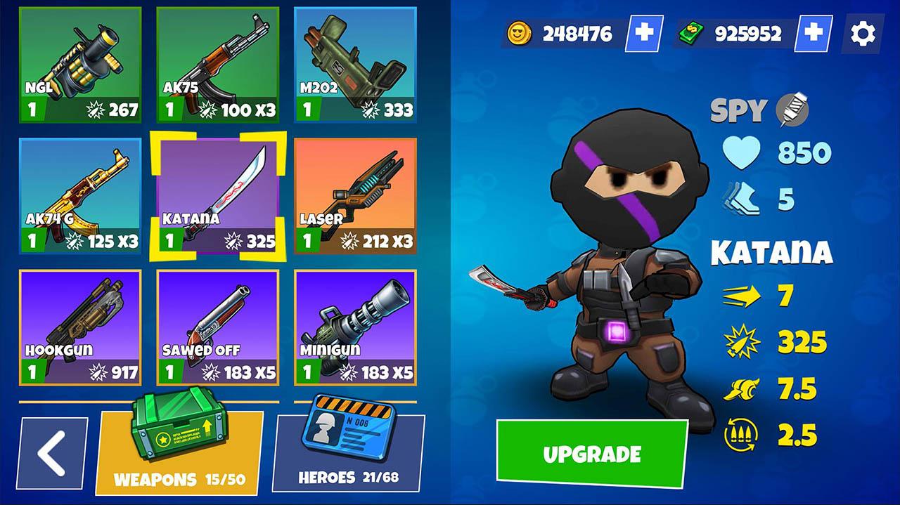 Warriors.io screenshot 2