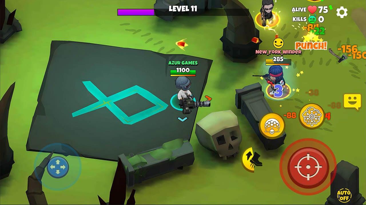 Warriors.io screenshot 4