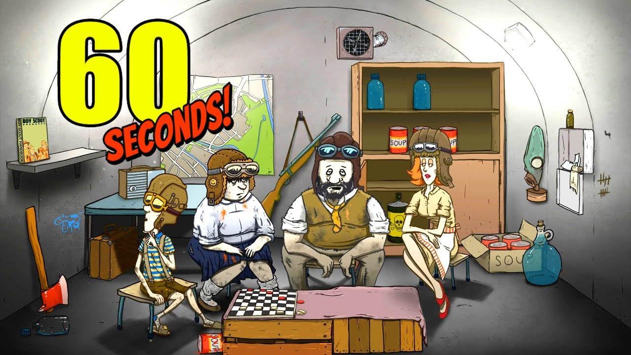 60 Seconds Atomic Adventure poster