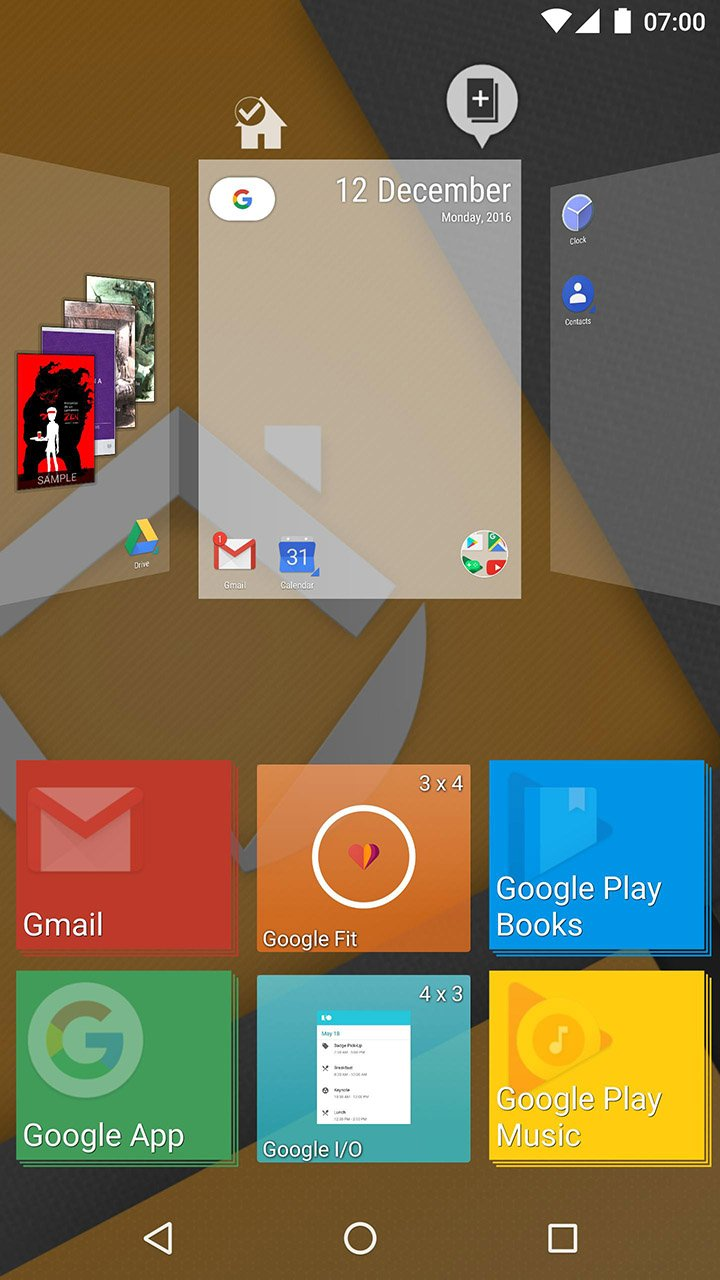 ADW Launcher 2 screen 1