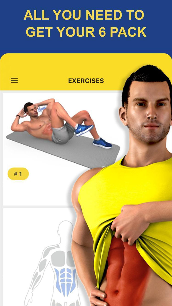 Abs Workout screen 0