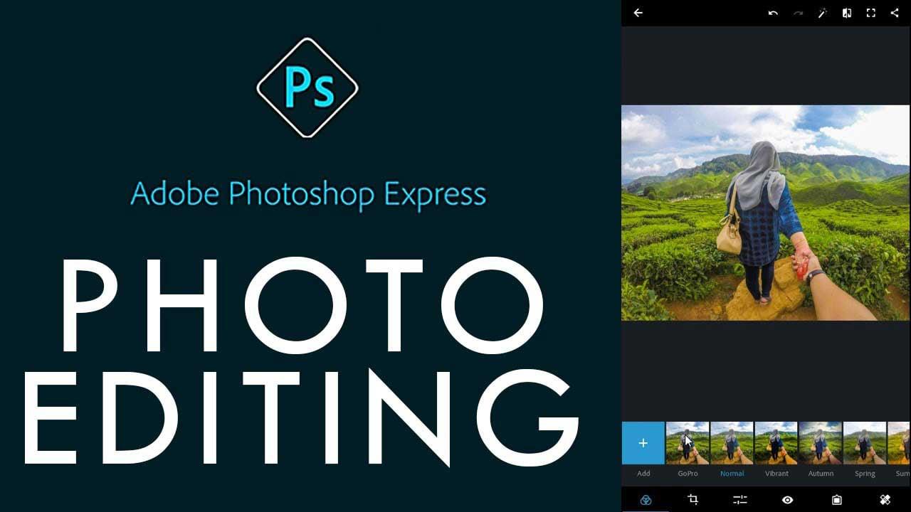 Adobe Photoshop Express poster