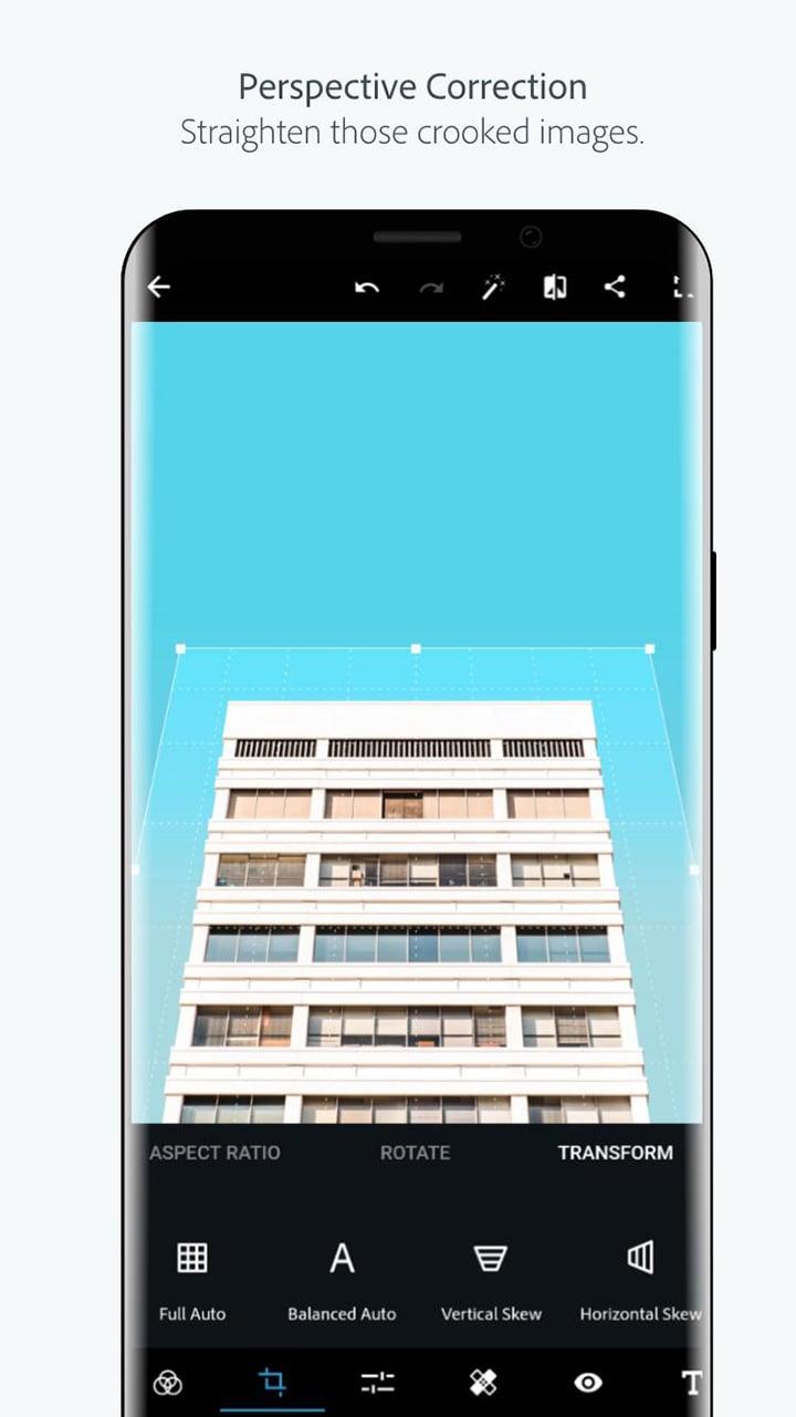 Adobe Photoshop Express screen 0